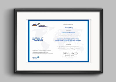 Ansul-piranha-certificate-stewart