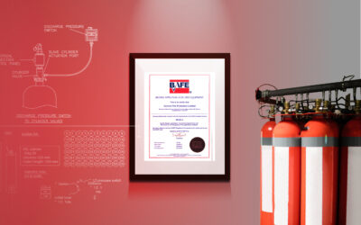 Continued excellence in gas fire suppression